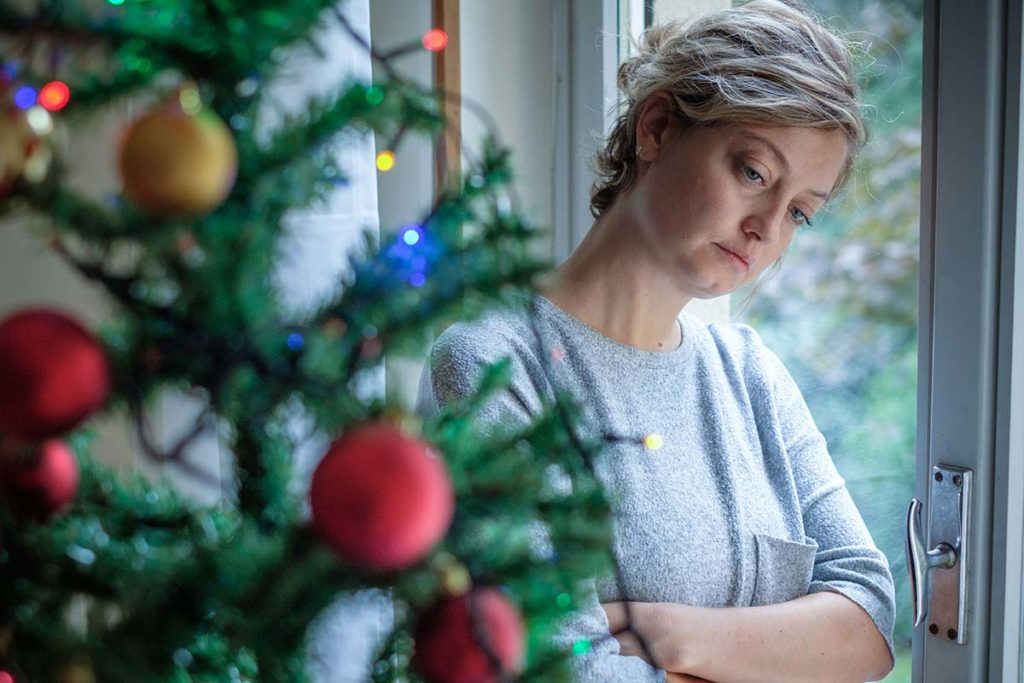 woman wonders how to manage her Mental Health and the Holidays